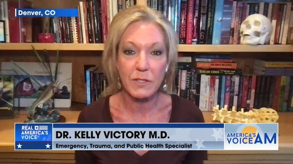 Dr. Kelly Victory Gives Her Expert Opinion On Vaccines And Wearing Masks