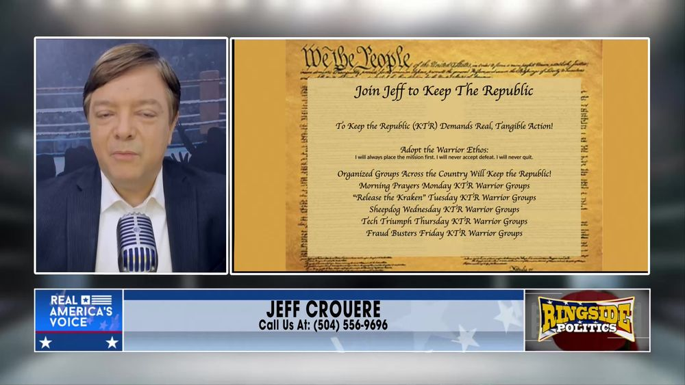 Jeff introduces The Keep The Republic Project June 11 2021