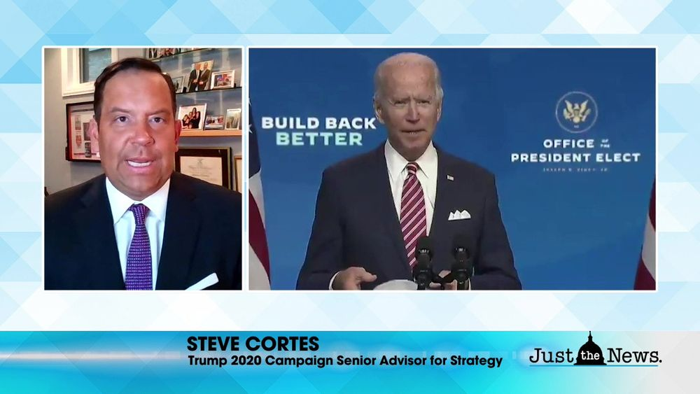 Steve Cortes, Trump 2020 Senior Advisor - Joe Biden will be elected illegally by oligarchy