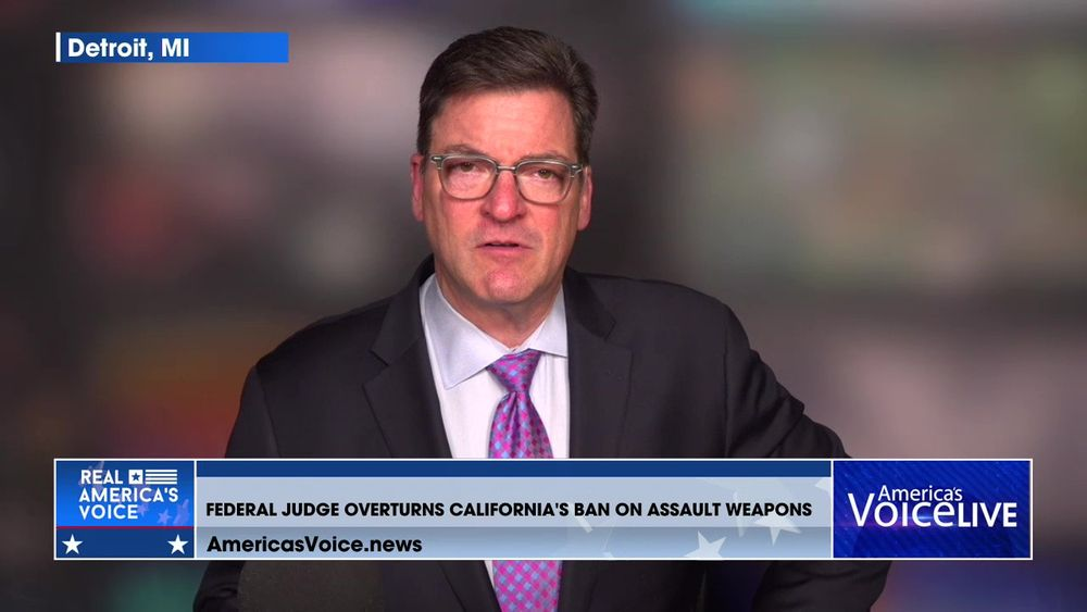 Federal Judge Overturns California's 32-Year Assault Weapons Ban