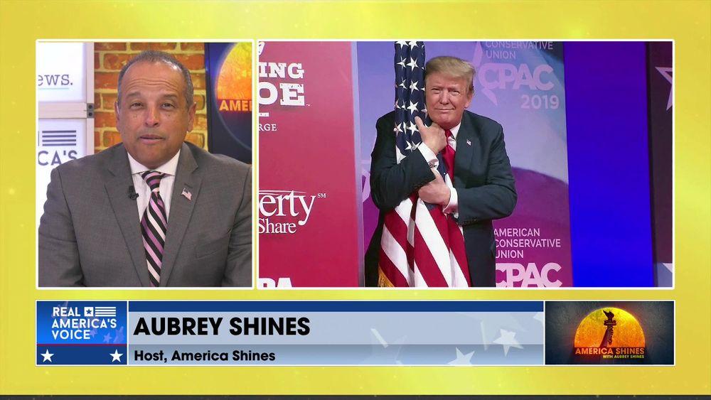 Aubrey Shines Talks CPAC, Former President Trump, and President Biden