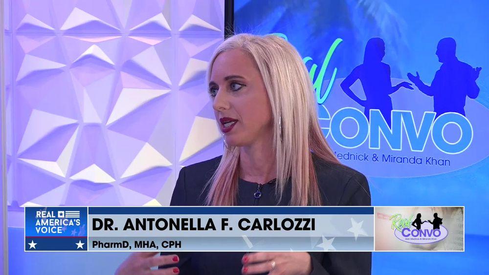 Real Convo With Miranda Khan & Alan Mednick - Dr. Antonella F. Carlozzi