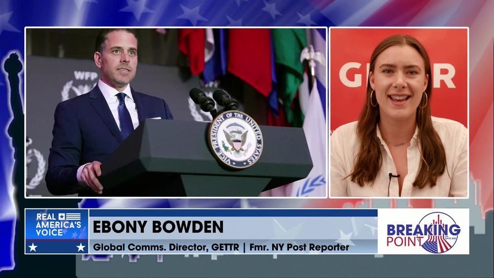 David Zere Is Joined By Former NY Post Reporter, Ebony Bowden To Discuss The Hunter Biden Story