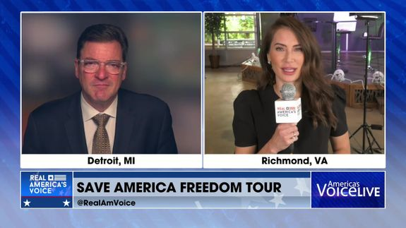 Amanda Head Joins us Live from The Save America Freedom Tour