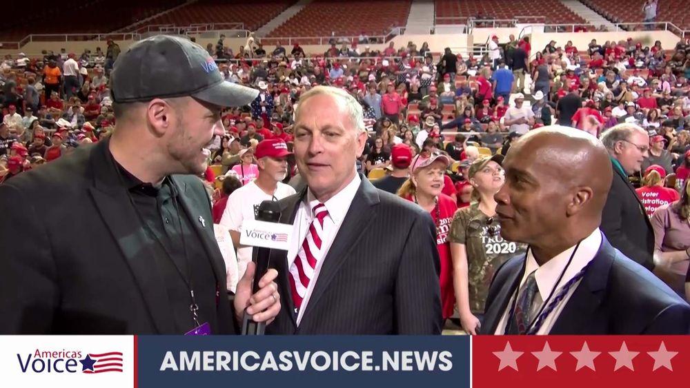 Ben Bergquam Speaks With Congressman Andy Biggs