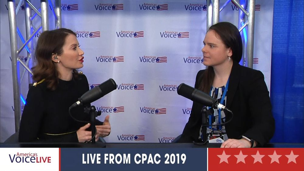 Amy Swearer CPAC 2019
