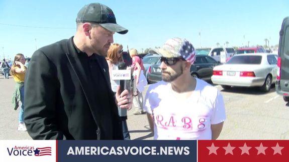 Ben Bergquam speaks with Arabs For Trump