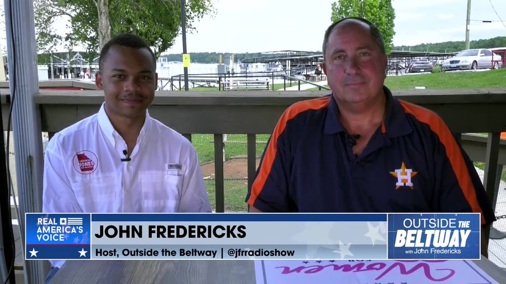 John Fredericks is Joined By Vernon Jones' Campaign Manager, CJ Pearson