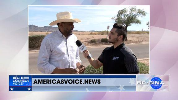 Drew Hernandez Gets an Update on the Border from Vernon Jones