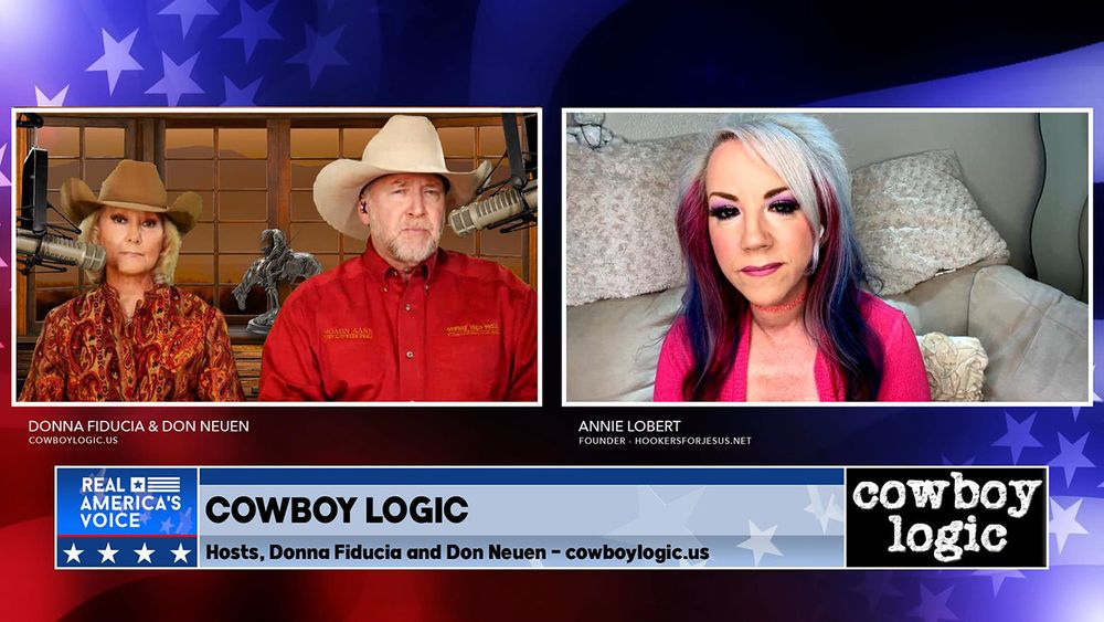 Cowboy Logic - Guest: Annie Lobert Part 2