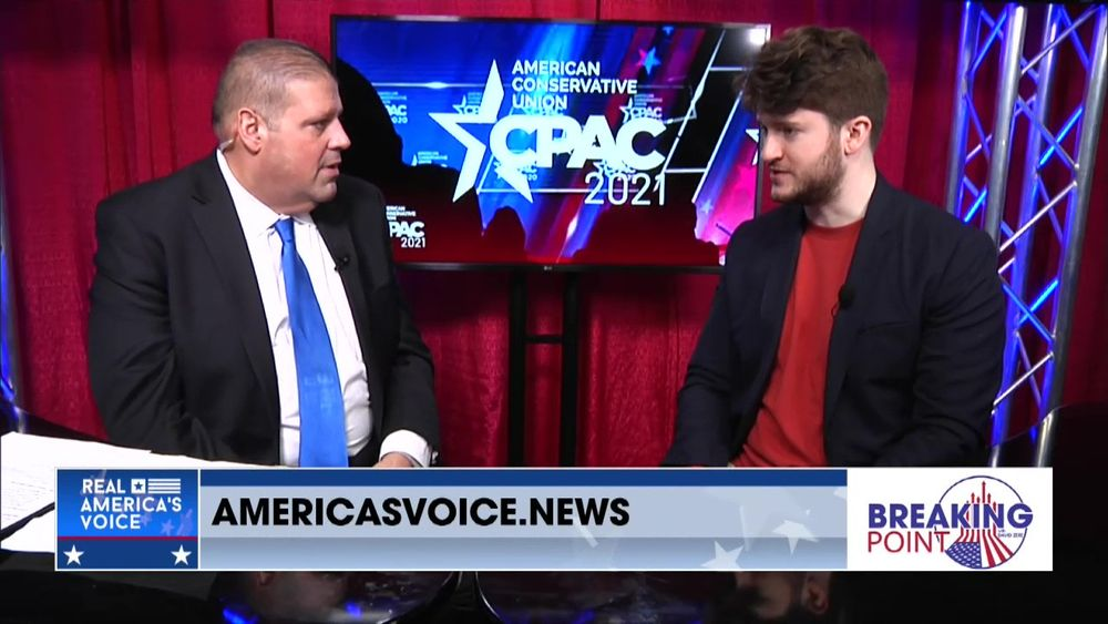 Gavin Wax Joins Breaking Point With David Zere From CPAC 2021