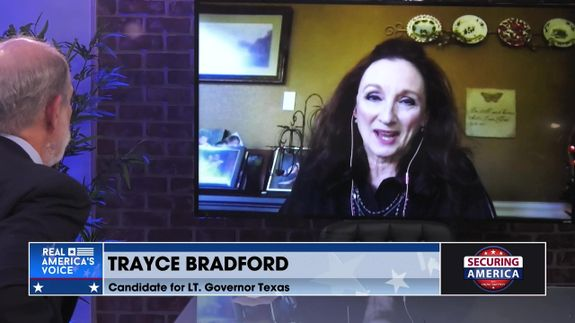 Trayce Bradford talks about her canidacy for Texas Lt. Governor