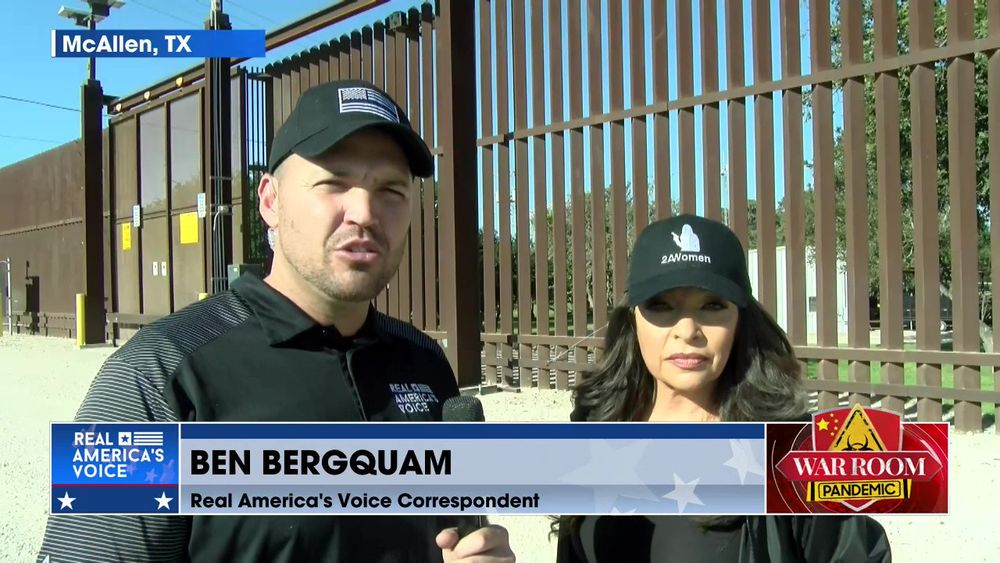 Ben Bergquam is Live from the Southern Border with an Update