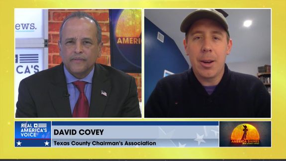 Aubrey Shines is Joined by Chairman of the Texas County Chairman's Association, David Covey
