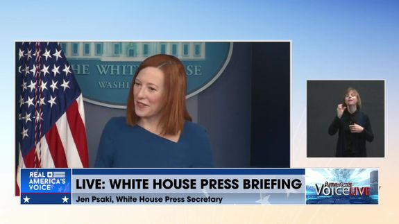 Live White House Press Briefing With Press Secretary Jen Psaki