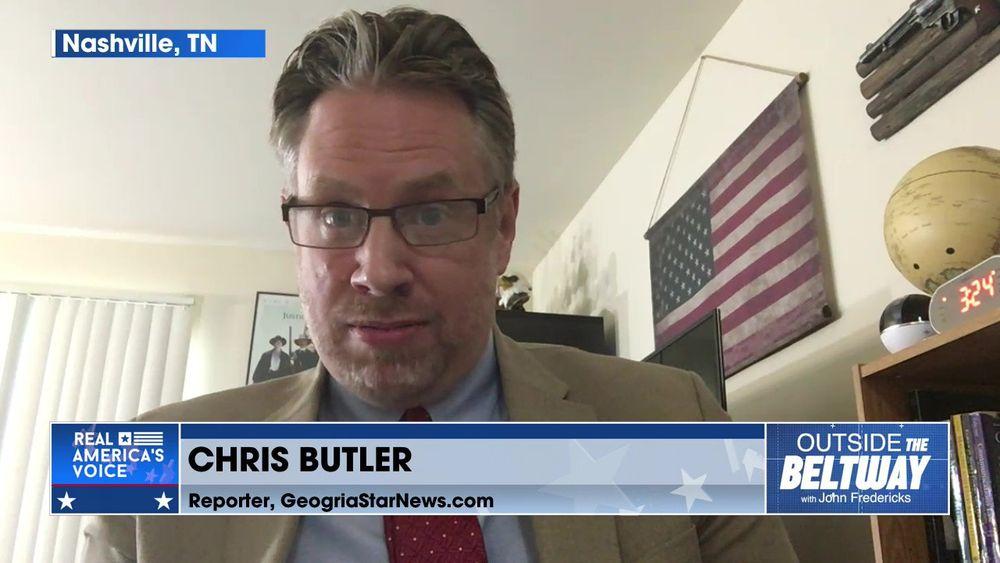 John Fredericks is Joined By Reporter at Georgia Star News, Chris Butler