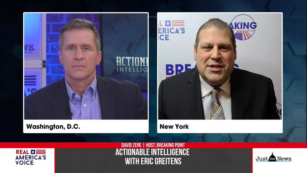 Eric Greitens and Actionable Intelligence is joined by Host of Breaking Point, David Zere