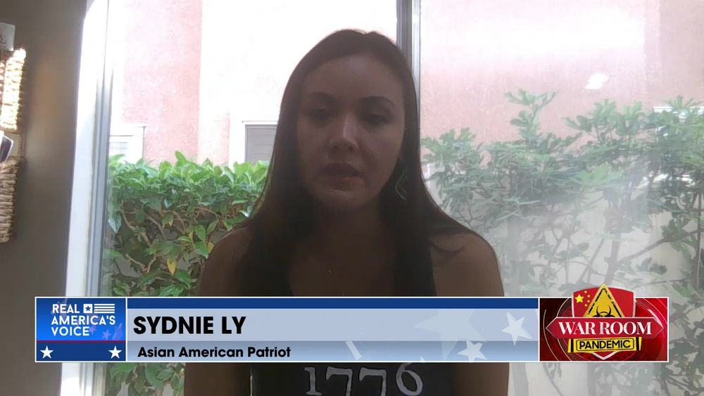 American Patriot Sydnie Ly Joins War Room to Share Her Story