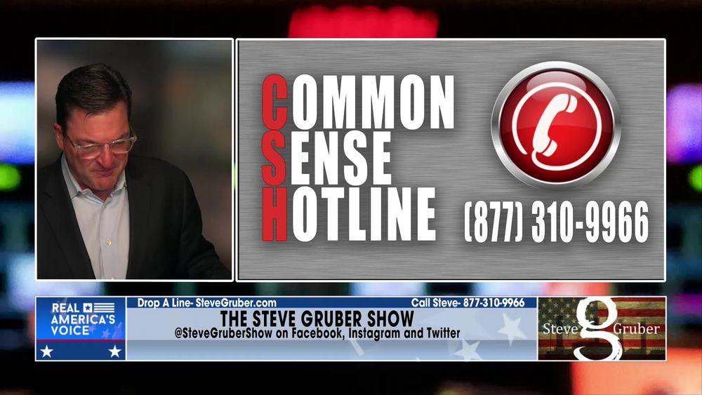Steve opens up the Common Sense Hotline July 20 2021 Part 2