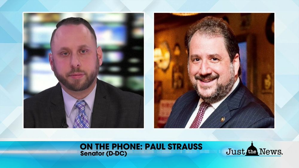 Senator Paul Strauss (D-DC) - DC Statehood has growing support, could it finally pass Congress?