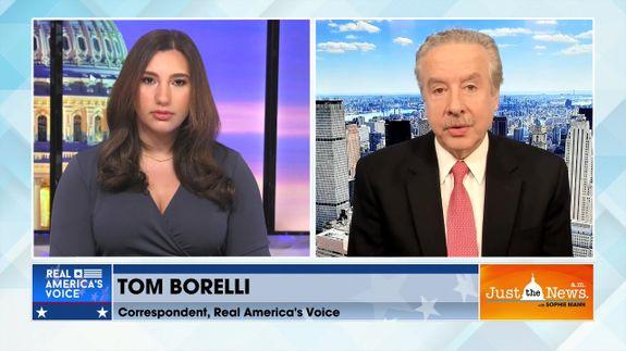 Tom Borelli, Correspondent, Real America Voice - President Biden plays politics with vaccine rollout
