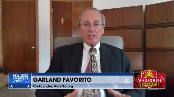 Garland Favorito Joins War Room to Discuss Georgia Election Fraud