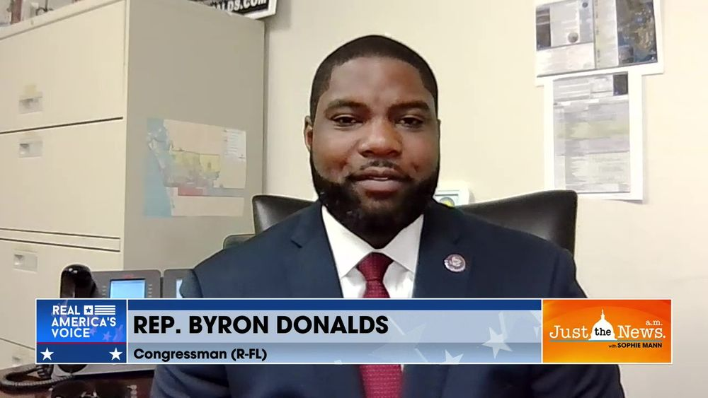 Rep. Byron Donalds (R-FL) - 'Time for House GOP Chair Cheney to go, she doesn't represent caucus.'