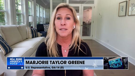 The Notorious Marjorie Taylor Greene Joins The Show