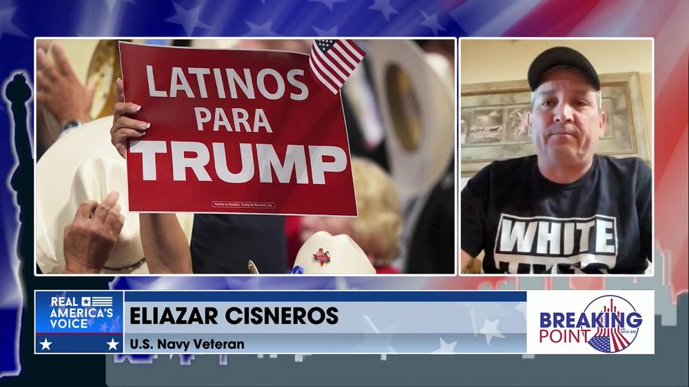 David is Joined by U.S. Navy Veteran, Eliazar Cisneros, The Attack Against Hispanic Conservatives