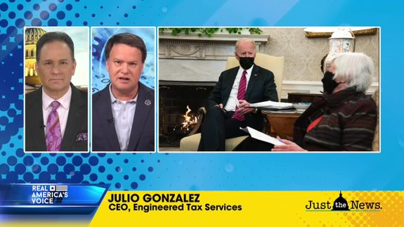 JULIO GONZALEZ TALKS ON THE BIDEN ADMINISTRATION AND HIGHER TAXES