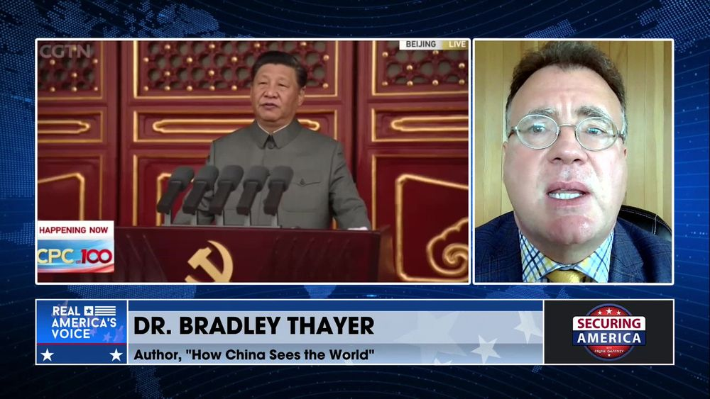 Bradley Thayer talks about Xi Jinping's ambitions for China and the world