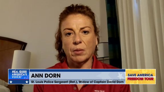 Ann Dorn Joins the Freedom Tour to Discuss Supporting the Country's Police Departments