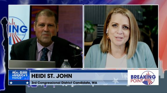 David Zere Is Joined By WA 3rd Congressional District Candidate, Heidi St. John