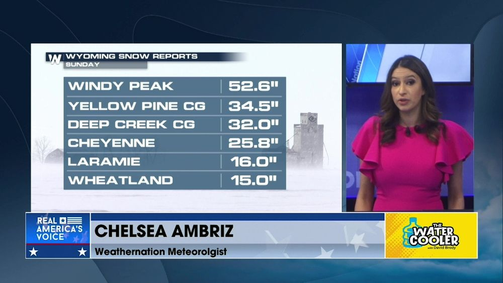 WEATHERNATION METEOROLOGIST CHELSEA AMBRIZ GIVES US THE LATEST ON THE SEVERE SNOW STORM