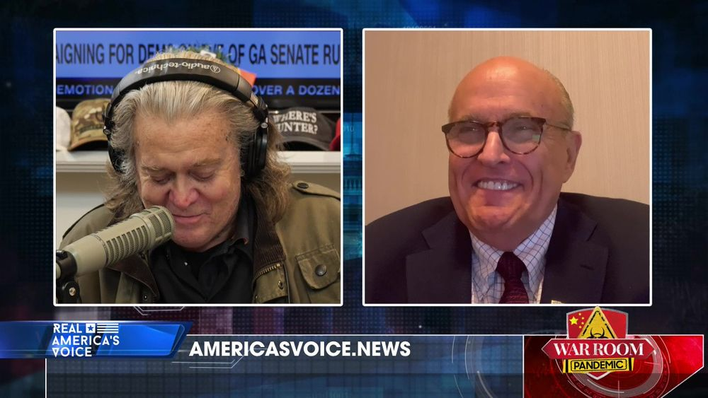 War Room Pandemic with Stephen K Bannon Episode 629 Part 1 With Rudy Giuliani