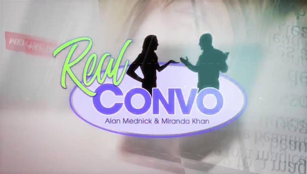 Miranda Khan and Alan Mednick talk about giving back to veterans on Real Convo Pt. 1