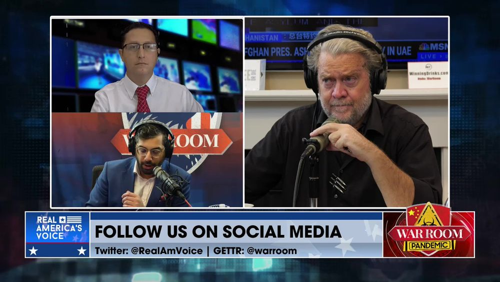 War Room Pandemic with Stephen K Bannon Episode 1183 Part 1