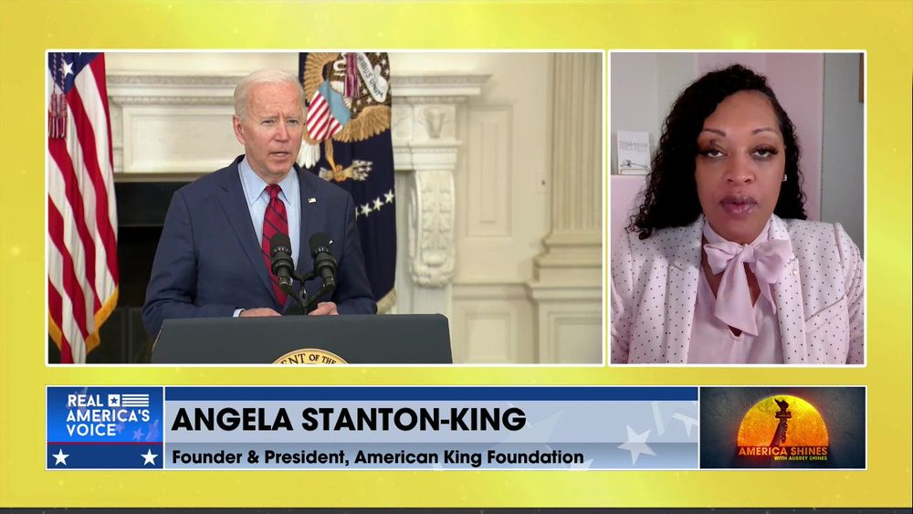 Aubrey Shines is Joined by Founder & President of the American King Foundation, Angela Stanton-King