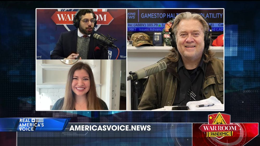 War Room Pandemic with Stephen K Bannon Episode 700 Part 3