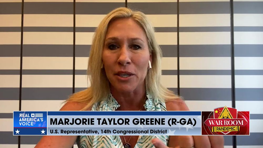Marjorie Taylor Greene Joins War Room to Discuss the Border Crisis