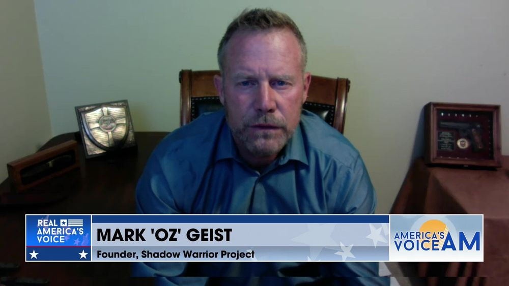 Afghanistan Is In Shambles Former Marine Mark 'OZ' Geist Gives His Insight