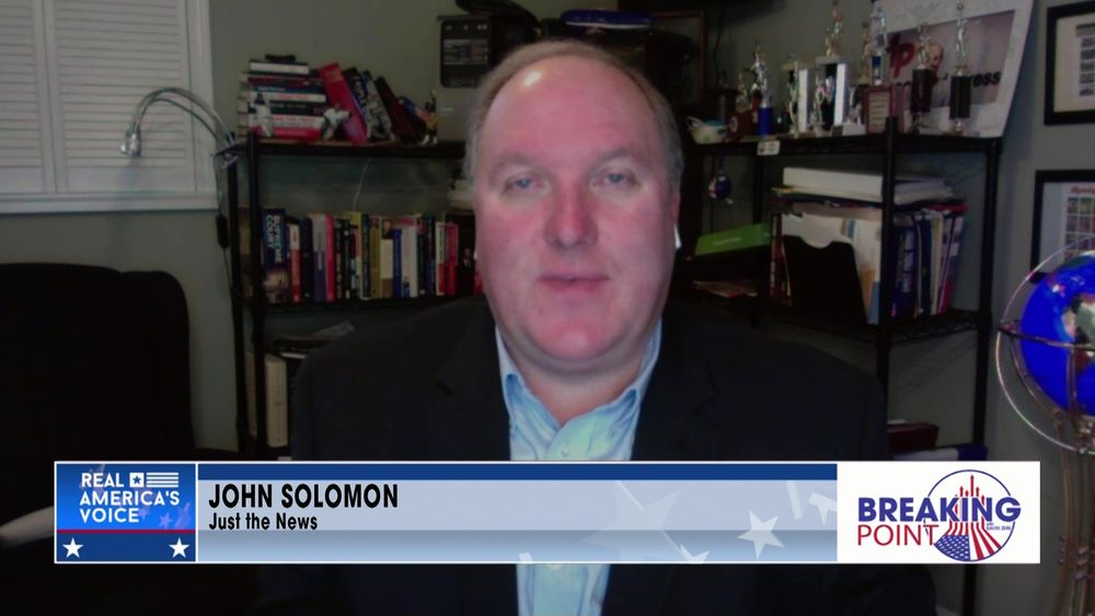 John Solomon April 9 2021