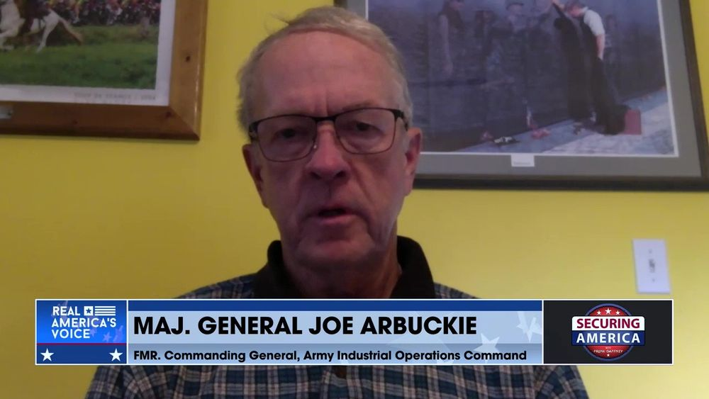 Major General Joe Arbuckle talks about the United States' failures in Afghanistan