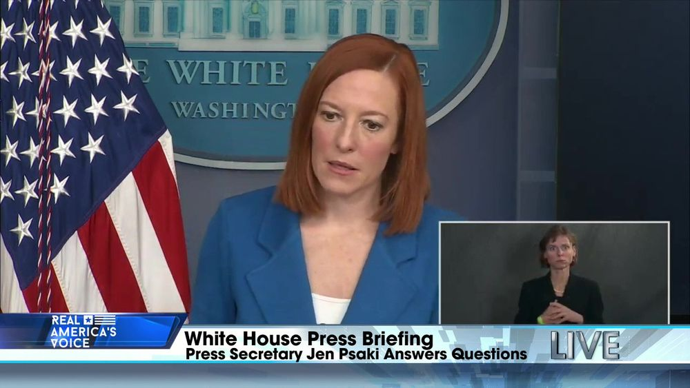 White House Press Secretary Jen Psaki Holds a Press Conference
