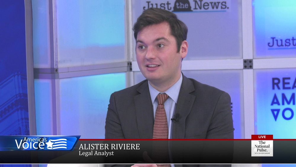 Raheem Kassam talks with Alister Riviere on legal analyst