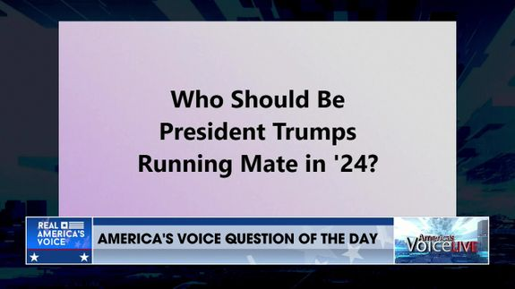 America's Voice Live Question Of The Day Part 1