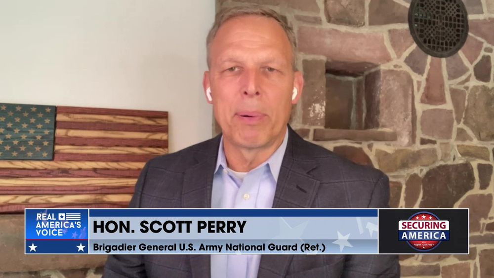 Hon. Scott Perry talks about the Biden administration's failed approach to China