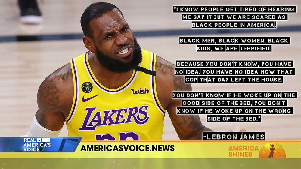Face Of America, With Aubrey Shines - Taking a Look at Lebron James and Colin Kaepernick