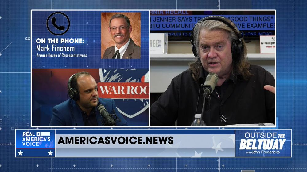 Outside The Beltway With Special Guest Host Stephen K. Bannon Part 3