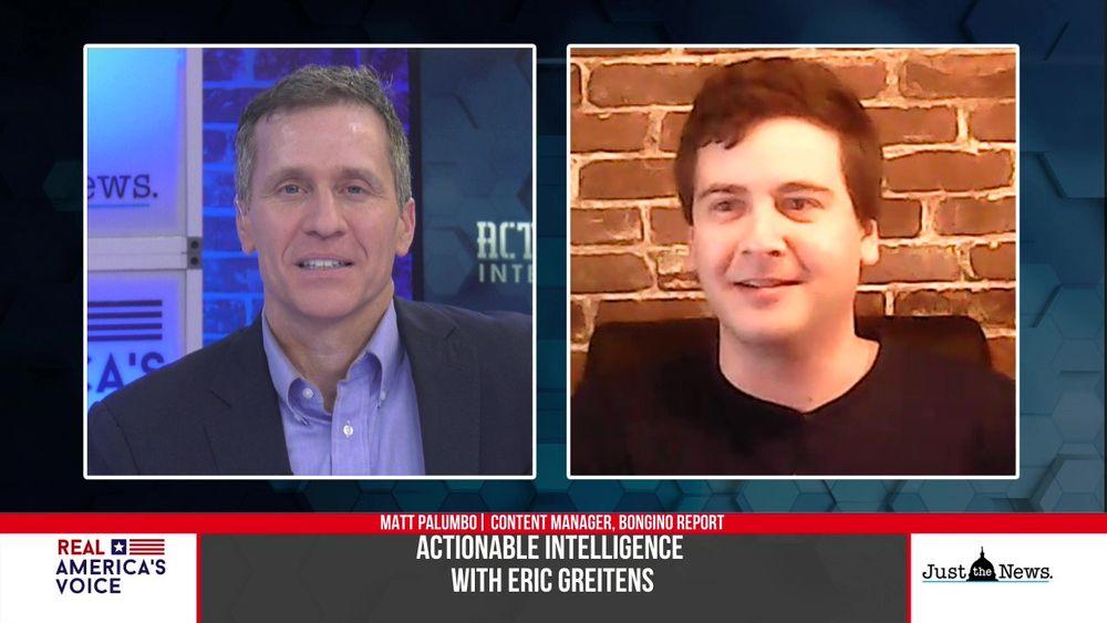 Eric Greitens speaks with Matt Palumbo